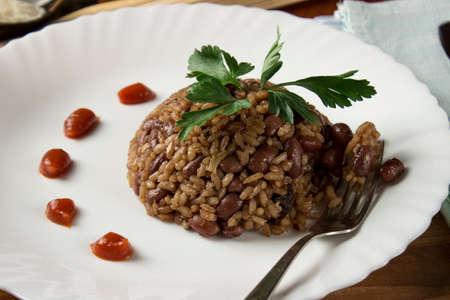 creole: Congri dish of Cuban national cuisine