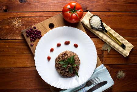mojo: Congri dish of Cuban national cuisine