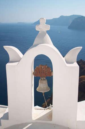 santorini greece: Bell tower, Santorini, Greece