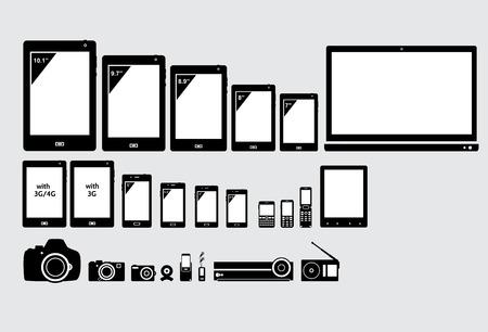 Electronic appliances.
