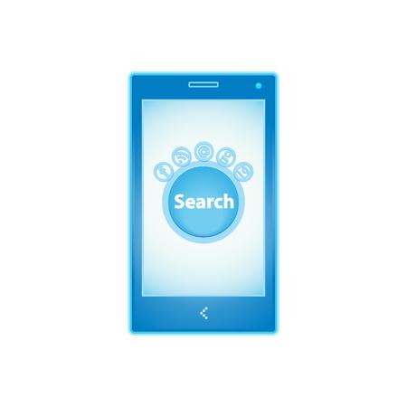 adress: Mobile phone logo.