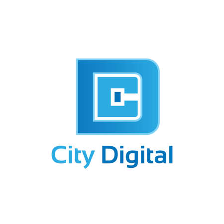 communications equipment: City Digital. Illustration