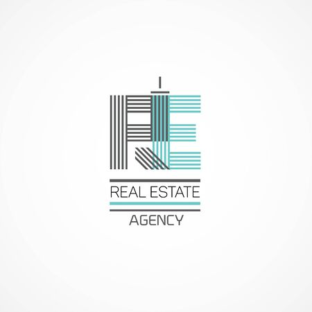 high rise buildings: Real estate theme.