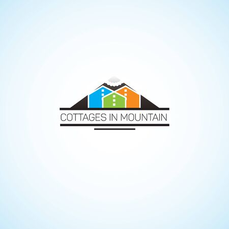 mountaintop: Cottages in mountain.