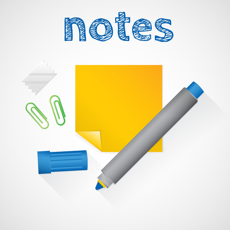 note pad and pen: Notes.Scratch paper.