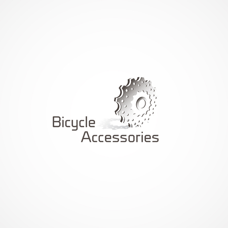 stingrays: Bicycle shift star.Bicycle Accessories  . Illustration