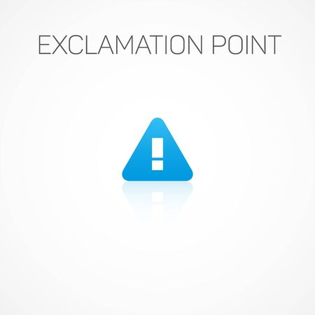 exclamation point: Sign of Exclamation point. Illustration