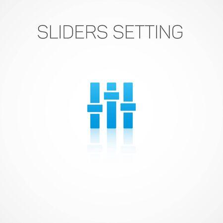 Sign of Sliders setting.