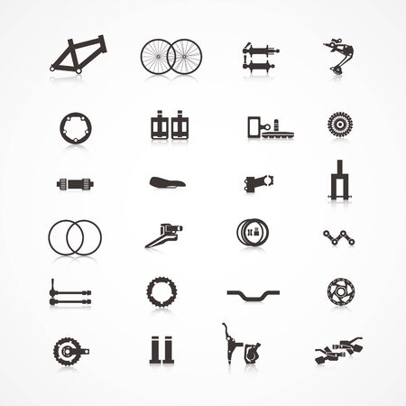 Accessories for bicycle.