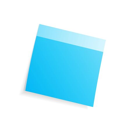 adhesive note: Adhesive note on a white background.
