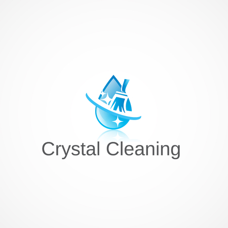 waterdrops: Crystal Cleaning.