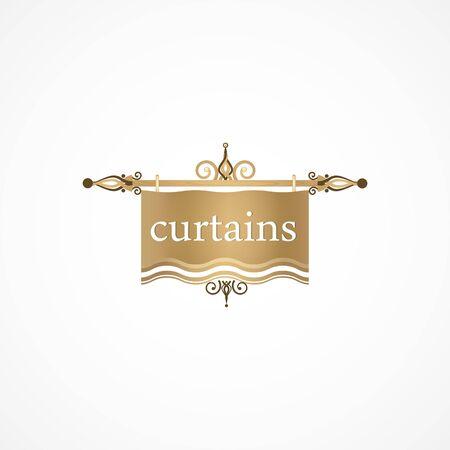 Curtain. Ilustracja