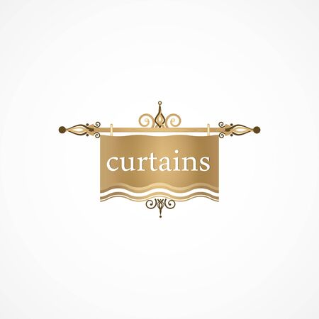 openly: Curtain. Illustration