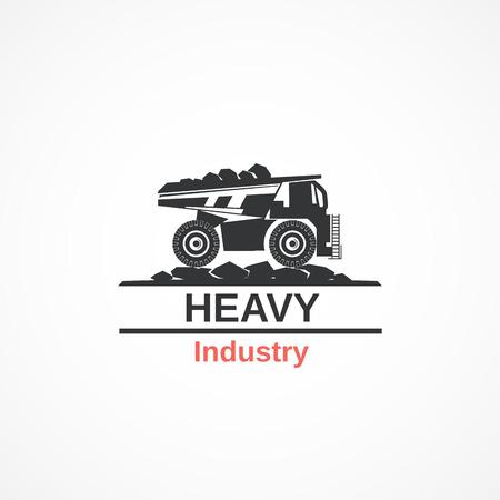truck icon. Иллюстрация