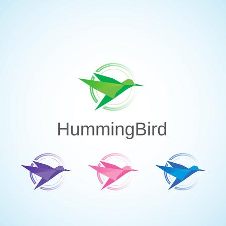 humming: Humming Bird. Illustration