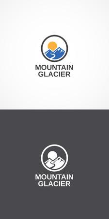 glacier: Mountain Glacier.