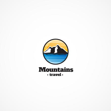 mountaintop: Mountains Logo.