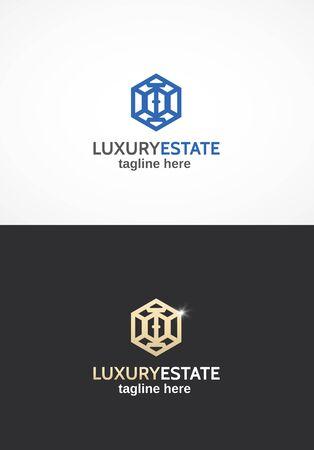 estate: Real Estate. Illustration