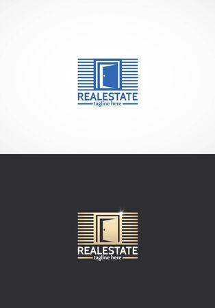 estate: Real estate Illustration