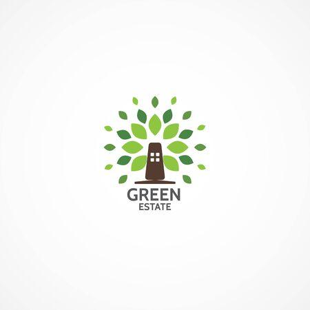 estate: Green Estate logo.