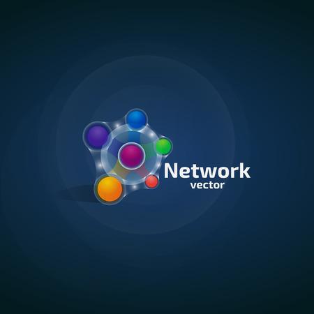 Network Logo. Logo