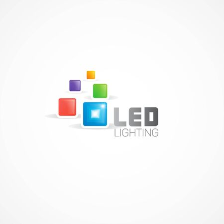 led lighting: Led Lights logo.