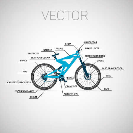 chasing tail: Mountain Bike Infographics.