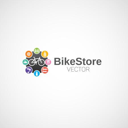 Fiets logo. Logo