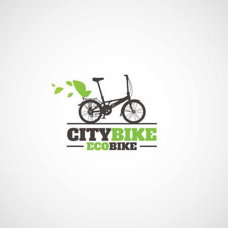 City folding bike logo.