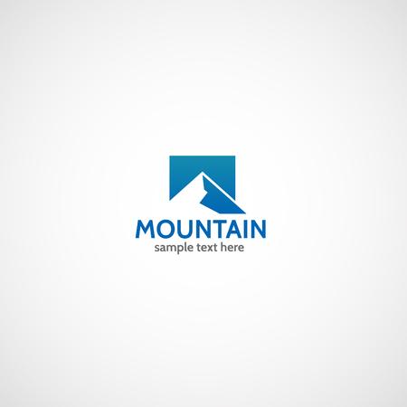Mountain logo. Ilustrace