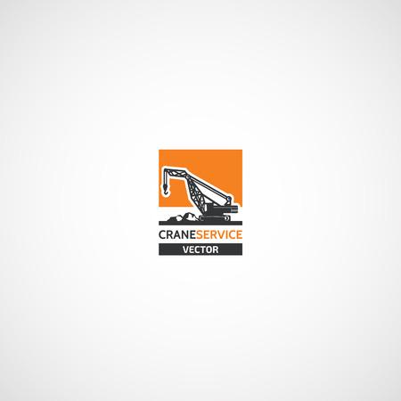 Building Crane Service logo.