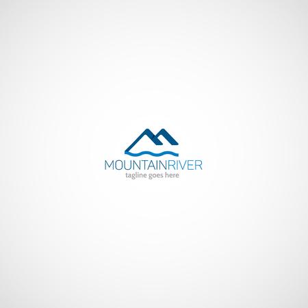 Mountain River logo.