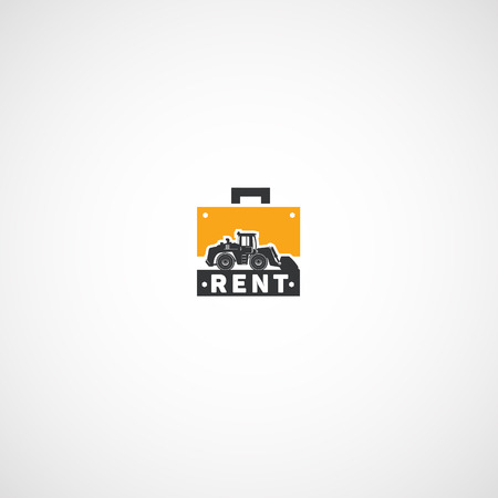 Rent of Heavy Equipment logo.