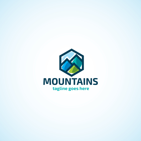 Bright Mountains logo.