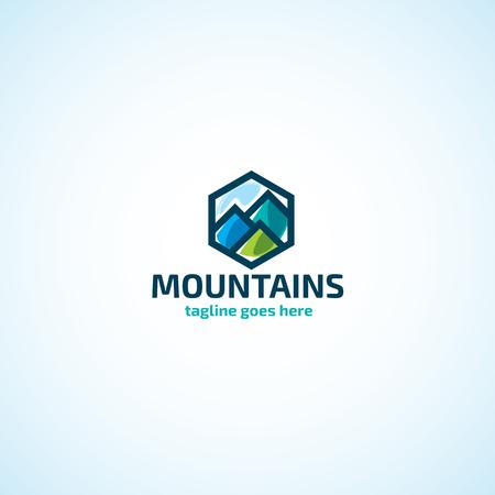 mountaintop: Bright Mountains logo.