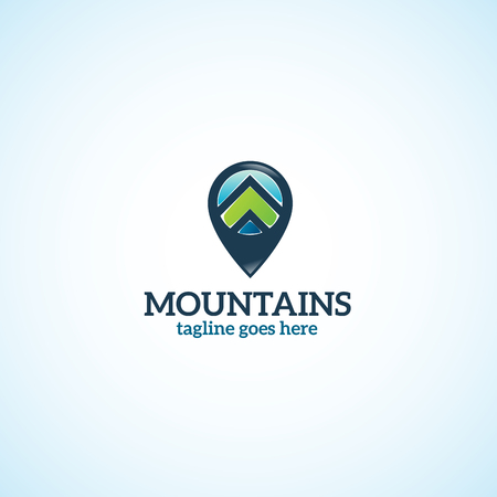 Bright Mountains Spot logo.