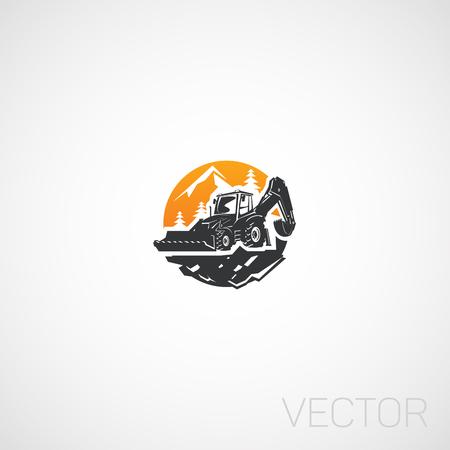Building Tractor, emblem.