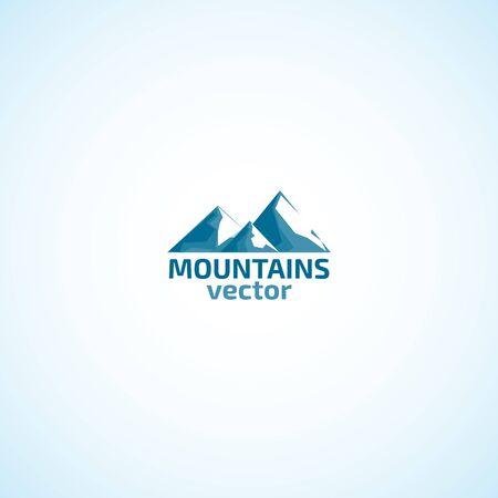 산과 눈 로고입니다.