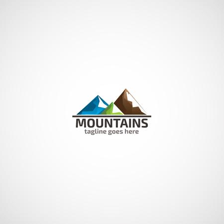 산 로고.