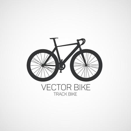 트랙 자전거.