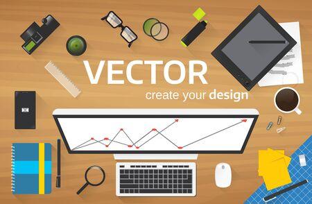 Vector illustration is fully editable.