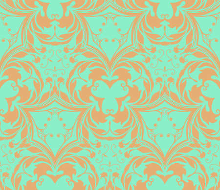 dirty carpet: This is the vector object of the coloured beautiful design. There are the beige pattern and soft green color as background. Illustration