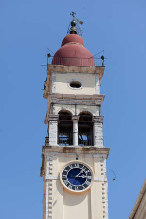 St  Spyridon church, Kerkyra, Corfu island, Greece photo
