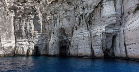 blue caves Paxos island