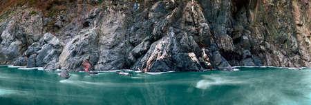 Granite gorge of the river White