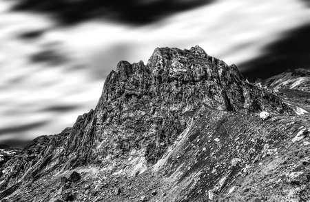 Views of Mount Oshten, Road to Oshten