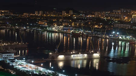 View to the Golden Horn Bay.
