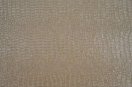 The texture of crocodile skin, crocodile skin imitation.