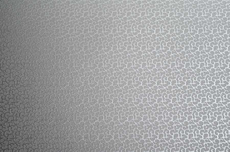 Texture of gray fabric with abstract embossed.