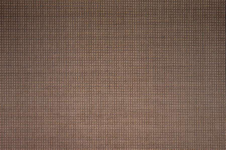 Texture of a brown cotton fabric.